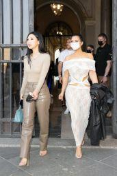 Kim Kardashian at the Vatican in Rome 06/29/2021
