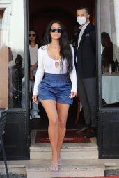 Kim Kardashian - Visiting the Colosseum in Rome 06/27/2021