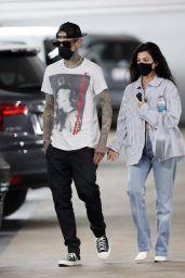 Kourtney Kardashian and Travis Barker - Beverly Hills 06/02/2021