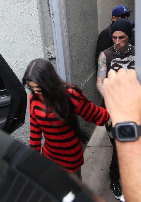 Kourtney Kardashian - Leaving MGK
