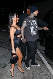 Kourtney Kardashian Night Out Style - Craig