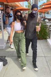 Kourtney Kardashian With Travis Barker - Out in LA 06/15/2021