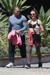 Kristen Bell - Arrives at Gym Session in Los Feliz 06/09/2021