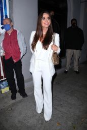 Kyle Richards Night Out Style - Craigs in West Hollywood 06/12/2021