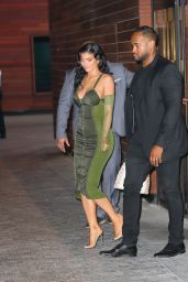 Kylie Jenner in a Vintage 1987 Jean Paul Gautier Dress - Leaves the Parsons Benefit in NY 06/15/2021