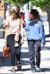 Laura Dern With Daughter Jaya Harper in Brentwood 06/13/2021