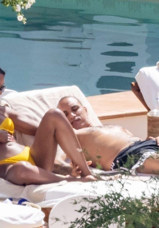 Laura Harrier in a Bikini - Positano 06/16/2021