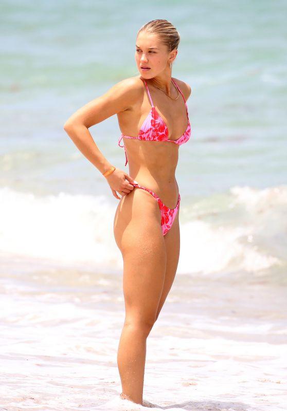 Laura Ivaniukas in a Bikini in Miami 06/05/2021