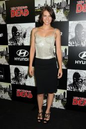 """Lauren Cohan - """"The Walking Dead"""" 100th Issue Black-Carpet Event in San Diego 07/13/2012"""