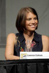 "Lauren Cohan - ""The Walking Dead"" Panel at SDCC 2012"