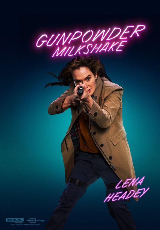 """Lena Headey - """"Gunpowder Milkshake"""" Promo 2021"""