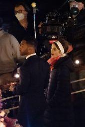 "Lily Collins - ""Emily in Paris"" TV Show Series 2 Set in Paris 06/24/2021"
