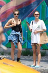 Lily-Rose Depp - Shopping in Manhattan's East Village, NY 06/19/2021