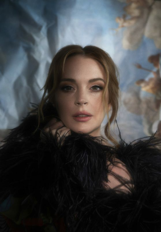 Lindsay Lohan - Interview Magazine June 2021
