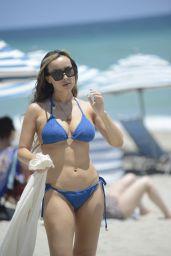 Lisa Opie in a Bikini in Miami Beach 05/31/2021
