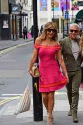 Lizzie Cundy and Bruno Tonioli - Charity Event in London 06/22/2021