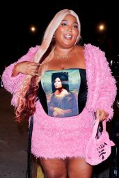 Lizzo at Catch LA in West Hollywood 06/26/2021