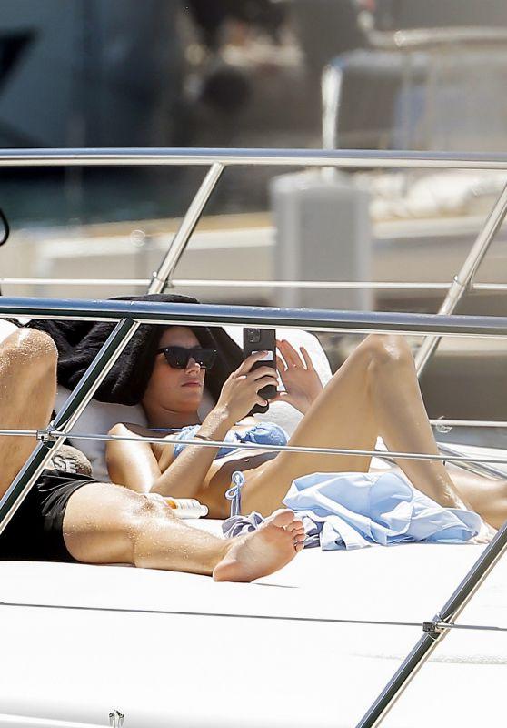Lorena Rae on a Luxury Yacht in Saint-Tropez 06/26/2021