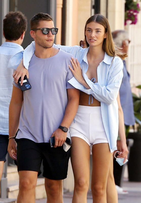 Lorena Rae - With Her Boyfriend in Saint-Tropez 06/26/2021