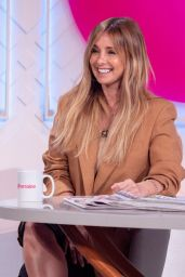 Louise Redknapp - Lorraine TV Show in London 06/02/2021