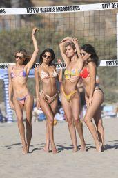 Ludi Delfino and Her Model Friends - Photoshoot in Santa Monica 06/05/2021