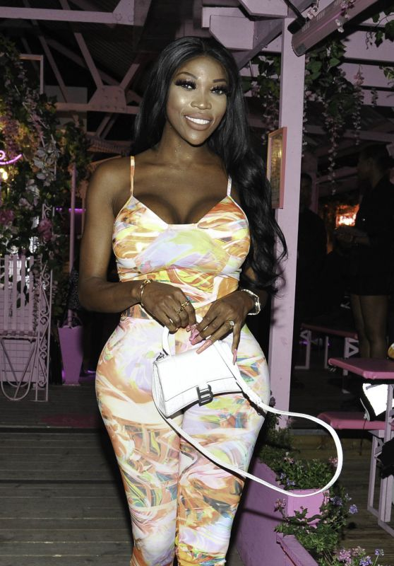 Lystra Adams Night Out Style - Boujee Bar in Manchester 06/05/2021