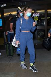 Madelyn Cline in Travel Outfit - LAX in LA 05/31/2021