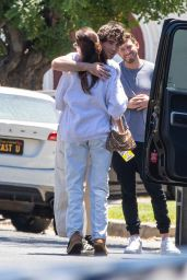 Madison Beer - Arrives at a Friends Home in LA 06/24/2021