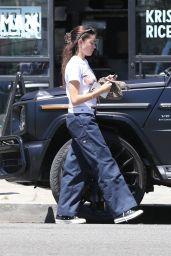 Madison Beer Wears Dickies Pants - Shopping in LA 06/25/2021
