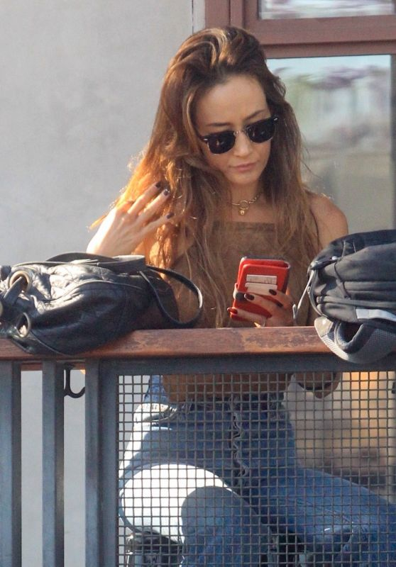 Maggie Q at Lunch in Hollywood 06/21/2021