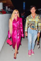 Marcela Iglesias and Her Son Rodrigo Iglesias - Los Angeles 06/10/2021