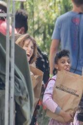 "Maya Hawke - ""Stranger Things"" Season 4 Set in Atlanta 06/14/2021"