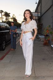 Maya Henry at Melisse in LA 06/23/2021