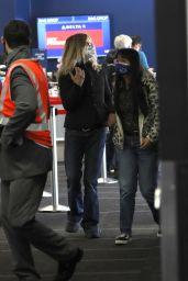 Meg Ryan and Daisy True Ryan - Airport in LA 06/10/2021
