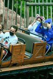 Megan Fox and Machine Gun Kelly - Disneyland in Anaheim 06/03/2021