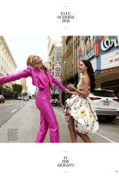 Melissa Barrera and Leslie Grace - ELLE Magazine June/July 2021 Issue