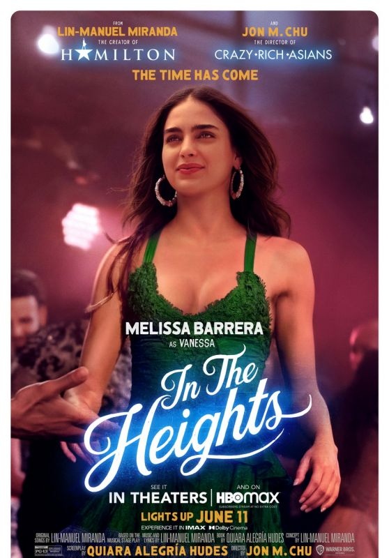 """Melissa Barrera - """"In The Heights"""" Posters"""