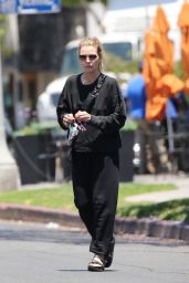 Michelle Pfeiffer in a Comfy Black Ensemble - Brentwood 06/14/2021