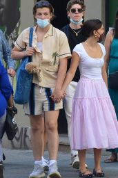 Millie Bobby Brown and Jake Bongiovi - Out in New York 06/17/2021