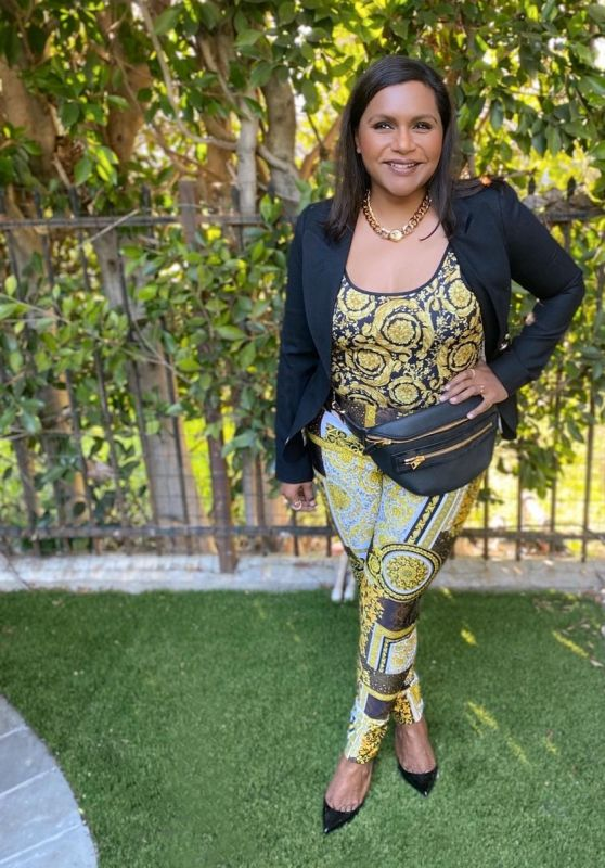 Mindy Kaling Outfit 06/02/2021