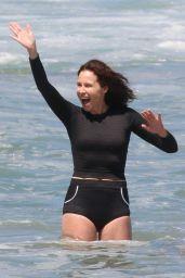 Minnie Driver - Beach Day in Malibu 06/21/2021