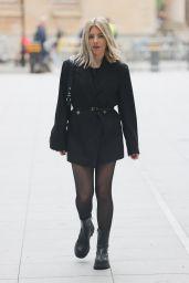 Mollie King in an Oversized Blazer - London 06/19/2021