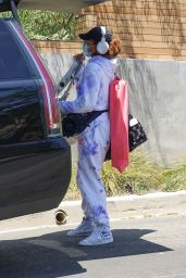 Naomi Osaka - Arrives Back Home in LA 06/01/2021