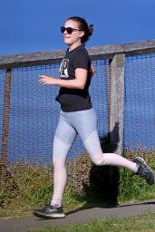Natalie Portman - Morning Run in Sydney 06/17/2021