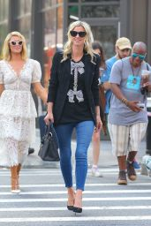 Nicky Hilton and Paris Hilton - Out in New York City 06/21/2021