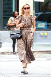 Nicky Hilton Wears a Leopard Print Dress - New York 06/07/2021
