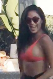 "Nicole Scherzinger at the Beach Bar ""Almancil"" in Portugal 06/23/2021"
