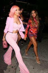 Nikita Dragun and Anitta at The Nice Guy in LA 06/02/2021
