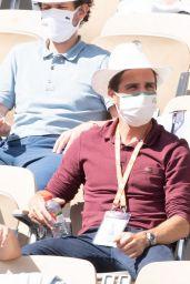 Nolwenn Leroy - French Tennis Open at Roland Garros in Paris 06/06/2021