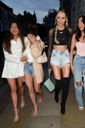 """Olivia Attwood, Fran Parman, Nicole Bass, Clelia Theodorou and Lystra Adams - """"Olivia Meets Her Match"""" Series 2 in Manchester 06/01/2021"""